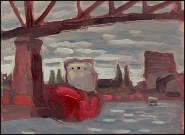 under the jacques cartier bridge