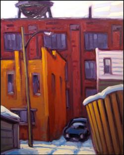 alleyway near lansdowne ave