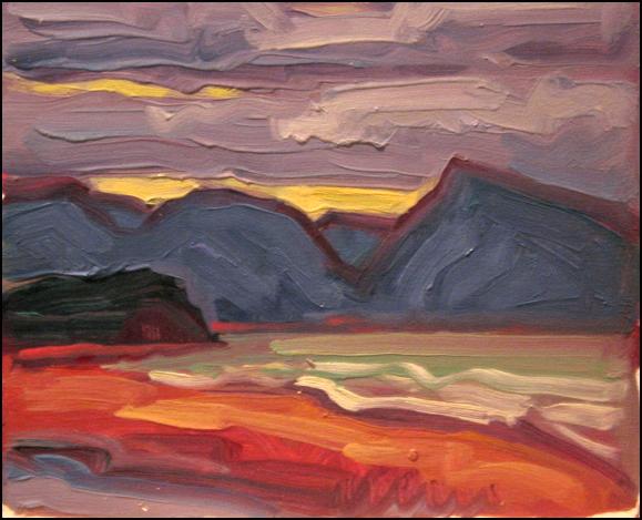 highlands from aspy bay