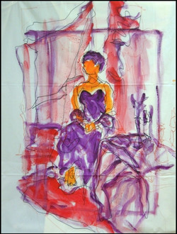 study for large figure