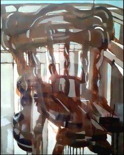 self portrait as chair