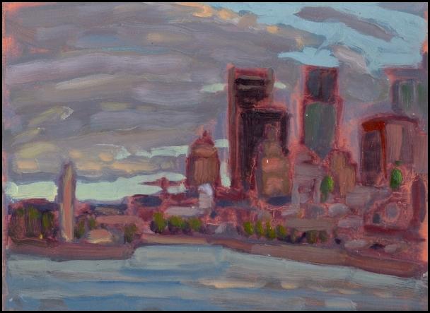 port and skyline