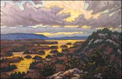 november view, willisville mountain