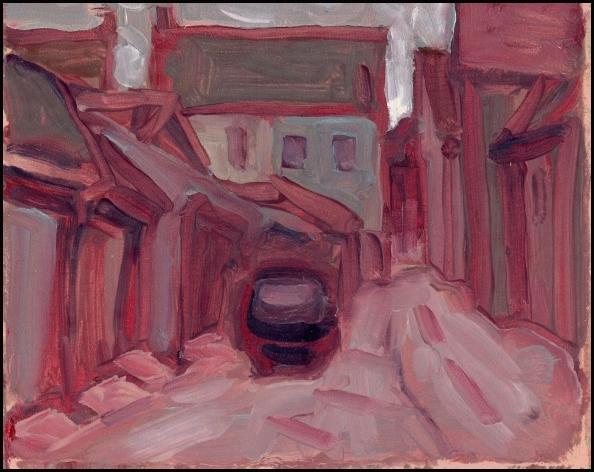 parkdale alleyway