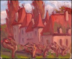 chateau near geneva