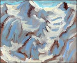 glacier study, valais