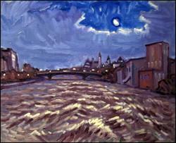 ottawa river nocturne