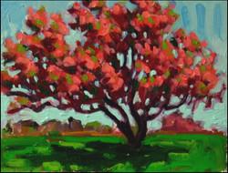 flower tree portrait