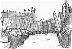 amsterdam sketch #1