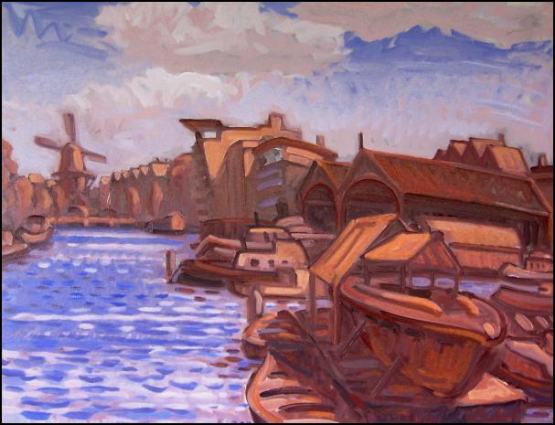 boat yard and molen