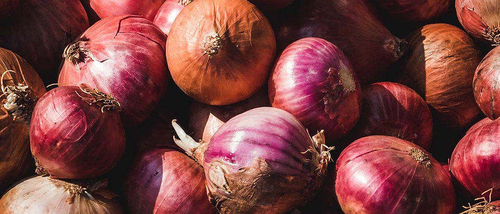 Organic Red Onions (500g)
