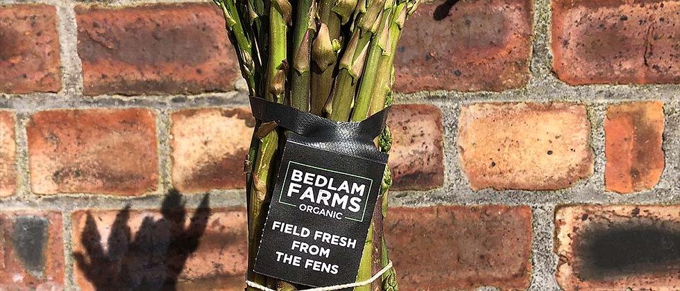 Organic Asparagus Wild Bunch (250g)