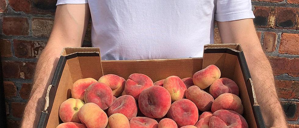 Organic Flat Peach (400g)