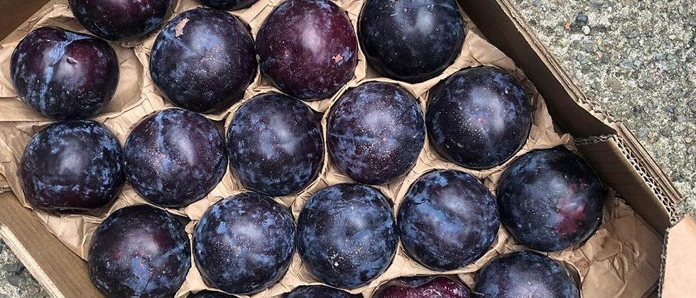 Organic Black Plums (400g)