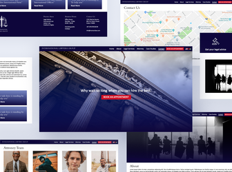 International Lawyers Group Website