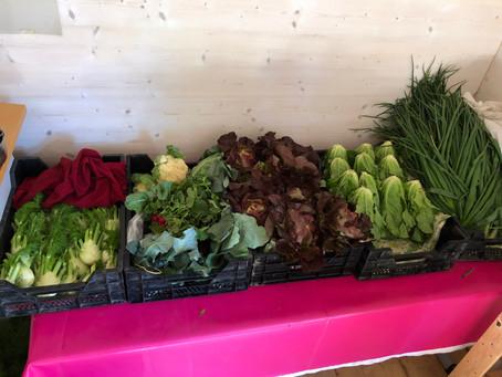Das zweite Gemüsebouquet