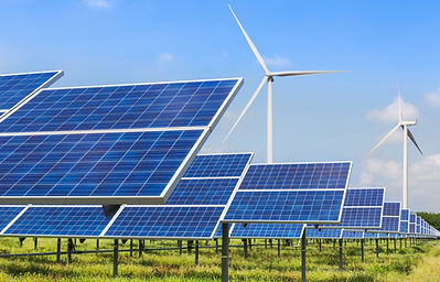 photovoltaics and wind turbines generati
