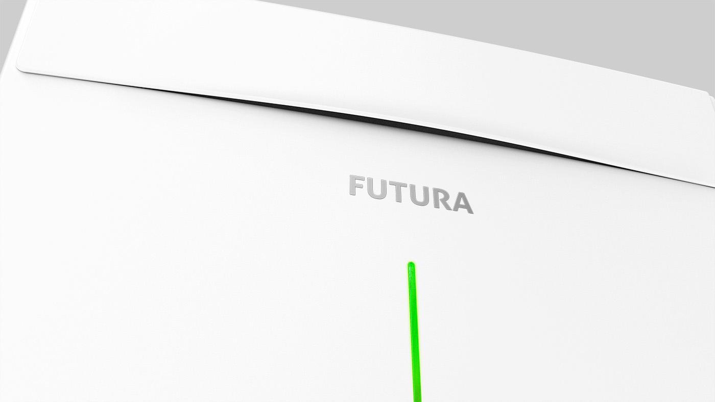 rekuperační jednotka FUTURA