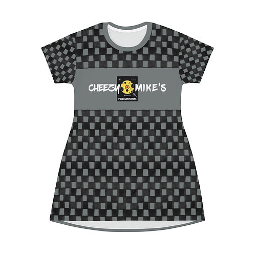 ICONIC LICENSE X CHEEZY MIKE'S T-Shirt Dress