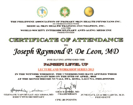 PAPSHPI Workshop Attendance