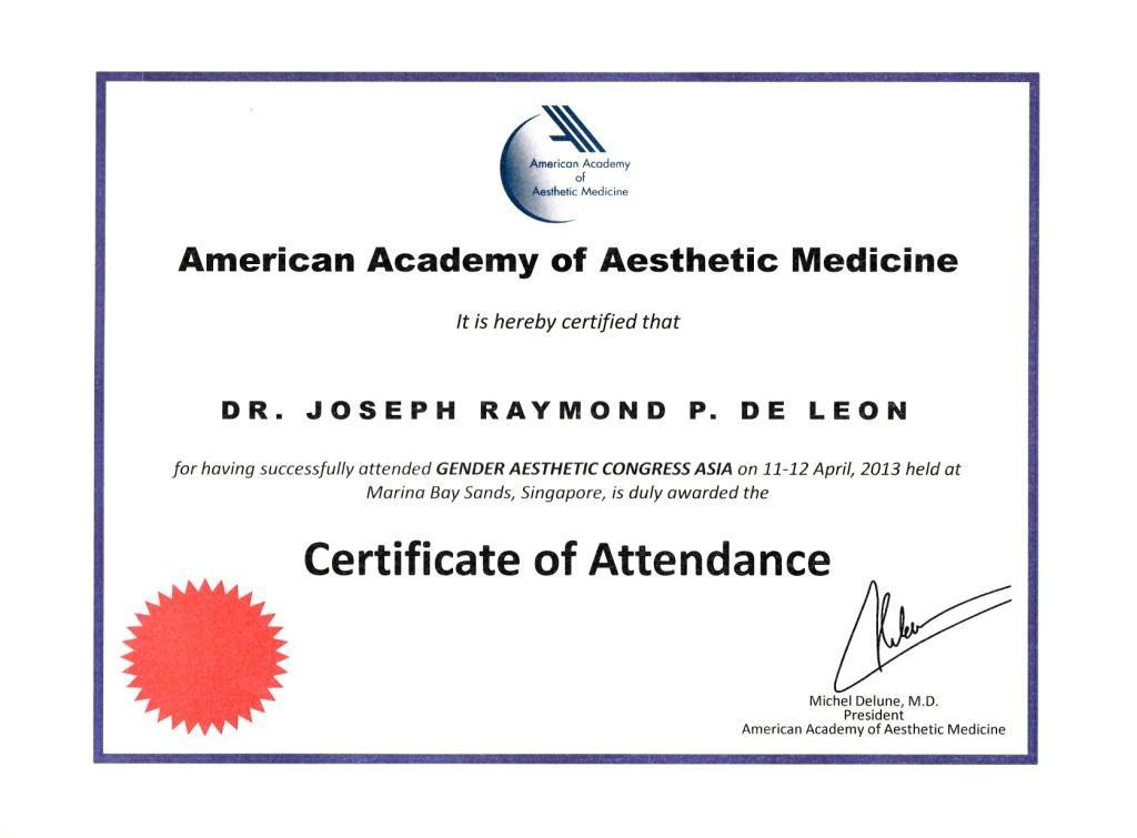Gender Aesthetics 2013