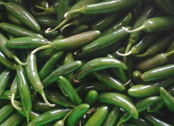 Serrano Hot Peppers - GHF
