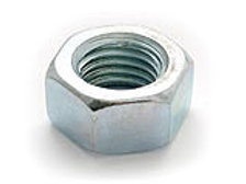 Hexagon Full Nuts Zinc