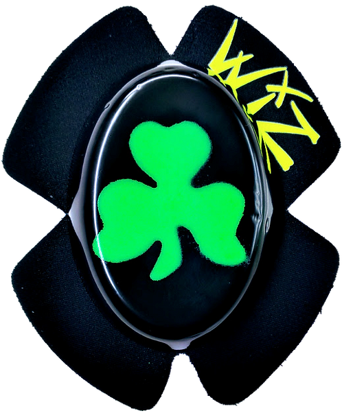 Wiz Knee Slider -Shamrock Green & Black