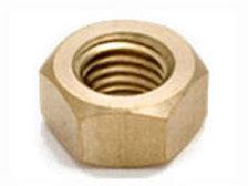Hexagon Full Nuts Brass