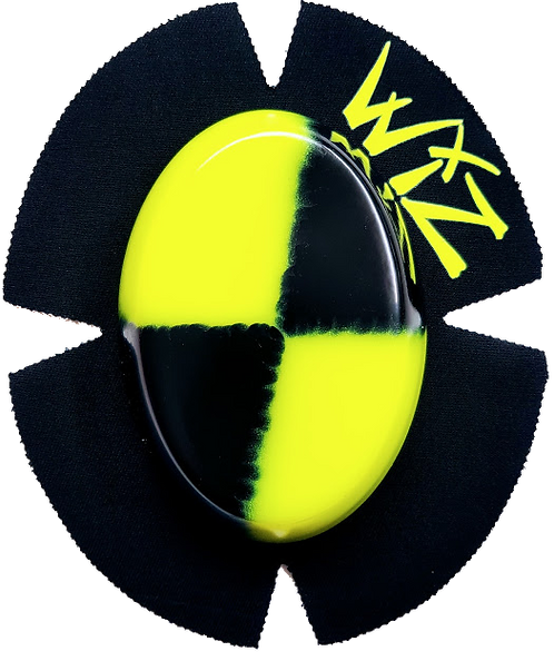 Wiz Knee Slider -Crash Test Dummy Yellow & Black