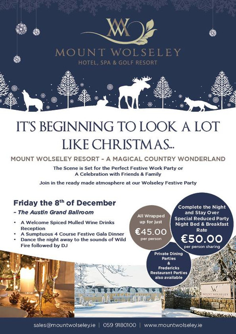 Christmas Party night at Mount Wolseley