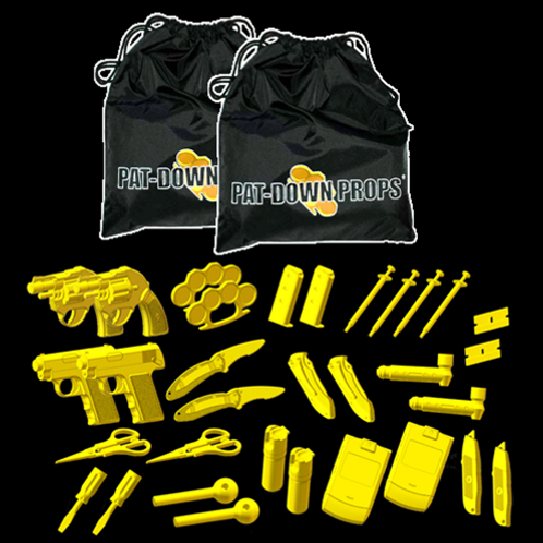 Pat Down Props Double Pack