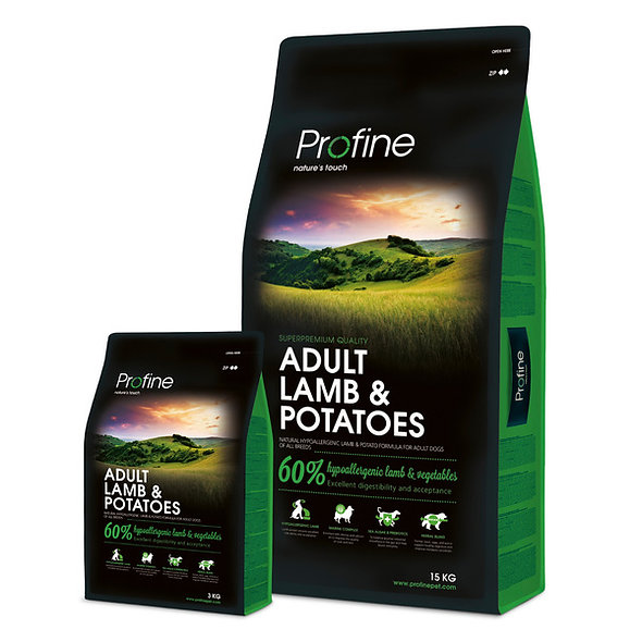 PROFINE Adult Lamb & Potatos