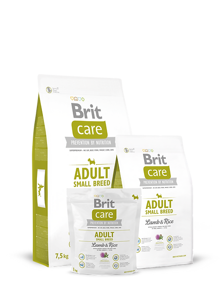 Brit Care Dog Adult Small Breed - Lamb & Rice