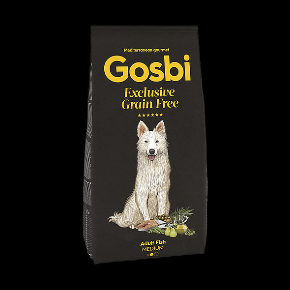 GOSBI Exclusive Grain Free Adult Fish Medium