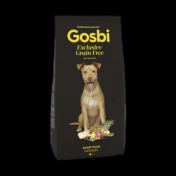 GOSBI Exclusive Grain Free Adult Duck Medium