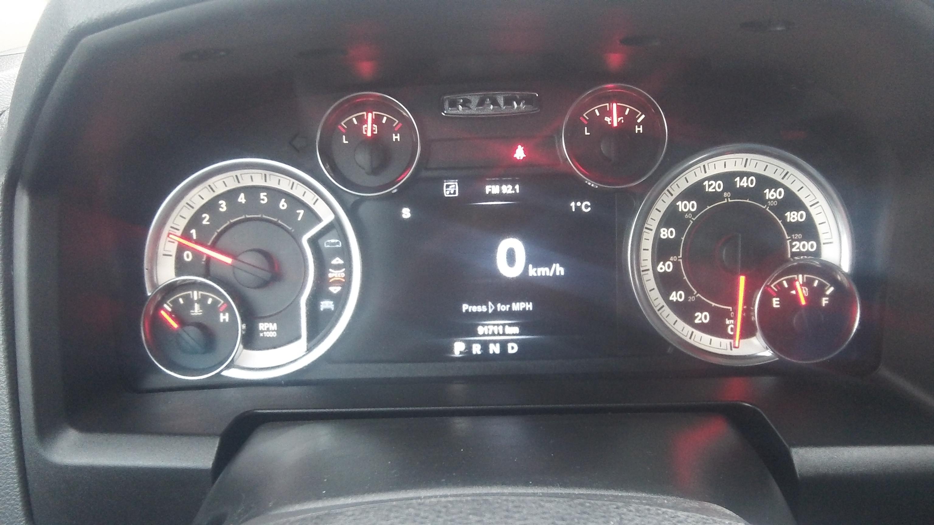 17 Ram 1500 SLT