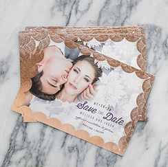 flat cards prints for announcemets, save the date cards, etc...
