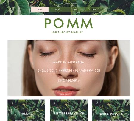 POMM WEBSITE
