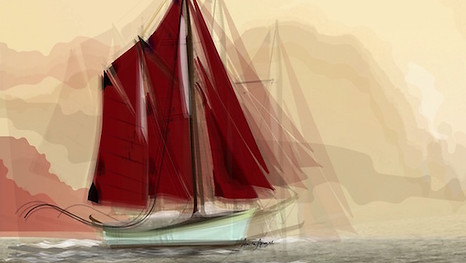 Red Sail - Art Work