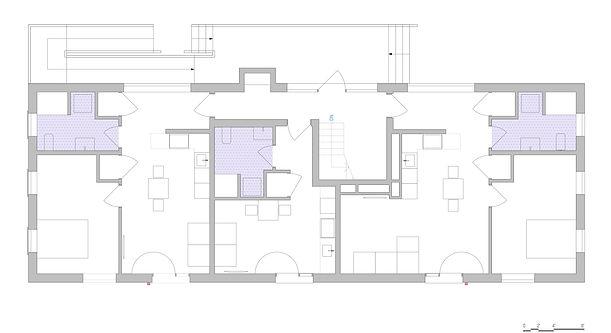1st Floor Plan - Residential Multifamily