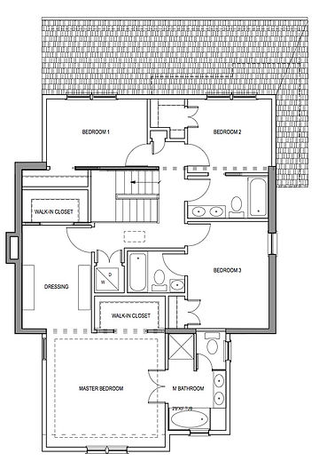 2nd floor plan - residentail addition