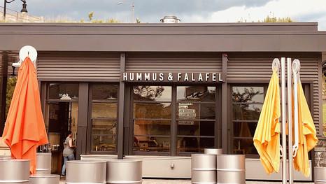 Falafel at Wharf, DC