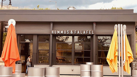 Falafel Inc. at The Wharf