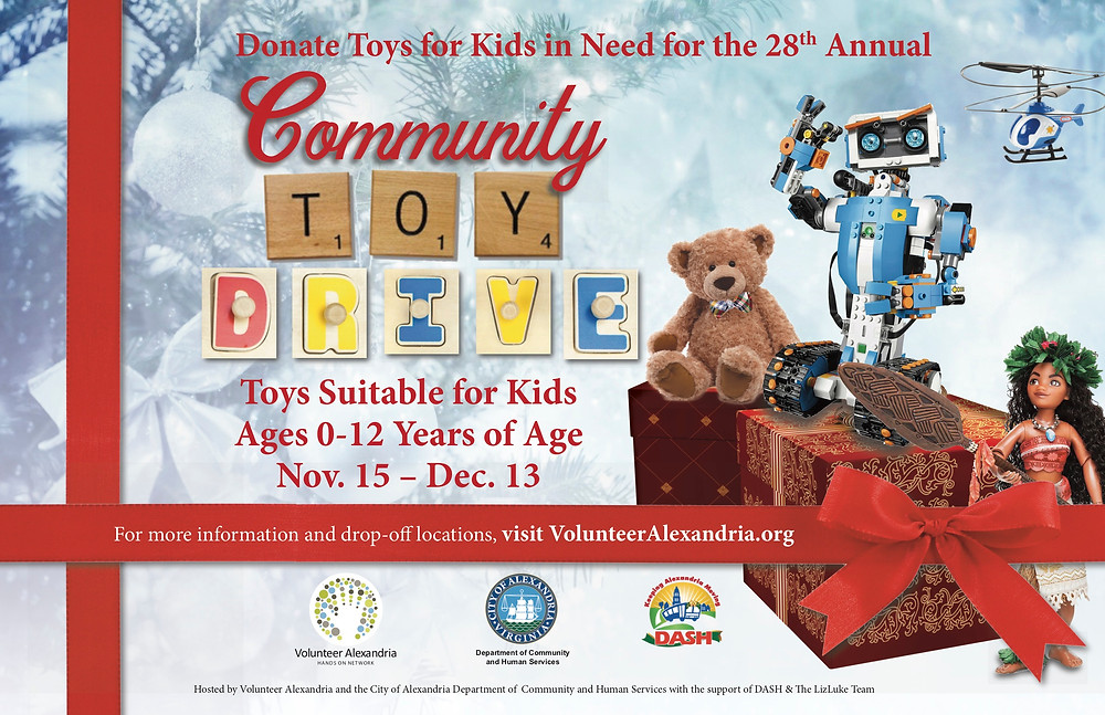 Community Toy Drive - Alexandria