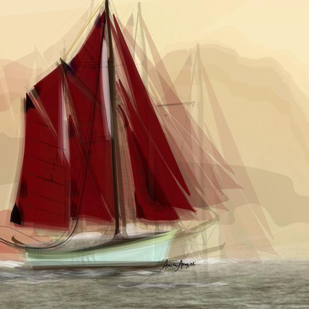 Red Sail - Artwork