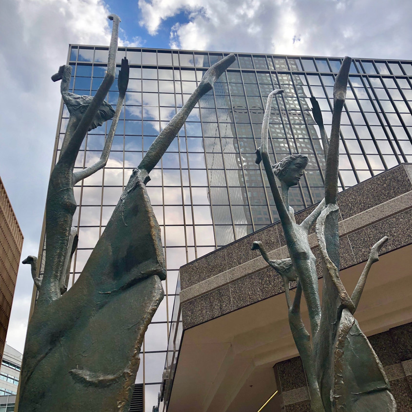 Public Art - Ballerinas