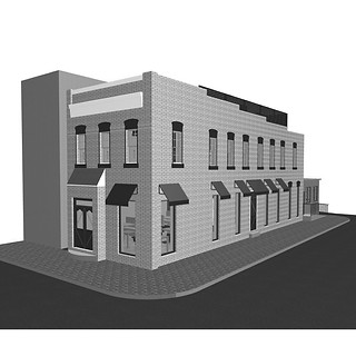 Place holder - 3D model of 1024 Cameron St., Alexandria, VA