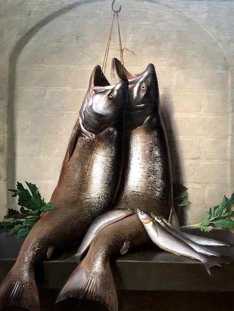 Silver Fish - Fine art