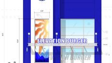 Elevation Burger Facade, Westfield Mall, Wheaton, MD